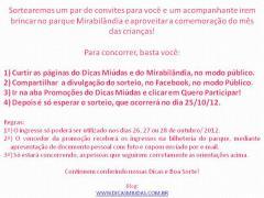 Dicas Miúdas + Mirabilandia = DIVERSÃO!!!