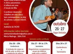 Conferência e Seminário com o Prof. Dr. Esteban Levin