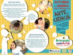 Sorteio: Oficina de Arte e Ciência – Brincando com Arte!