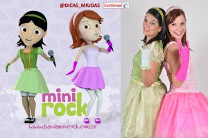 Mini Rock lança DVD